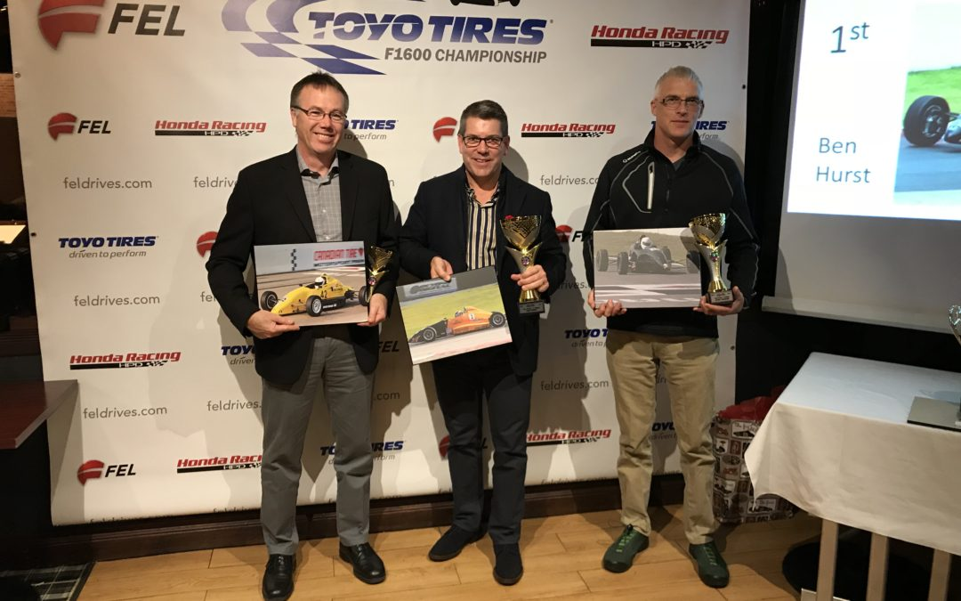 2017 Toyo Tires Championship Series Awards