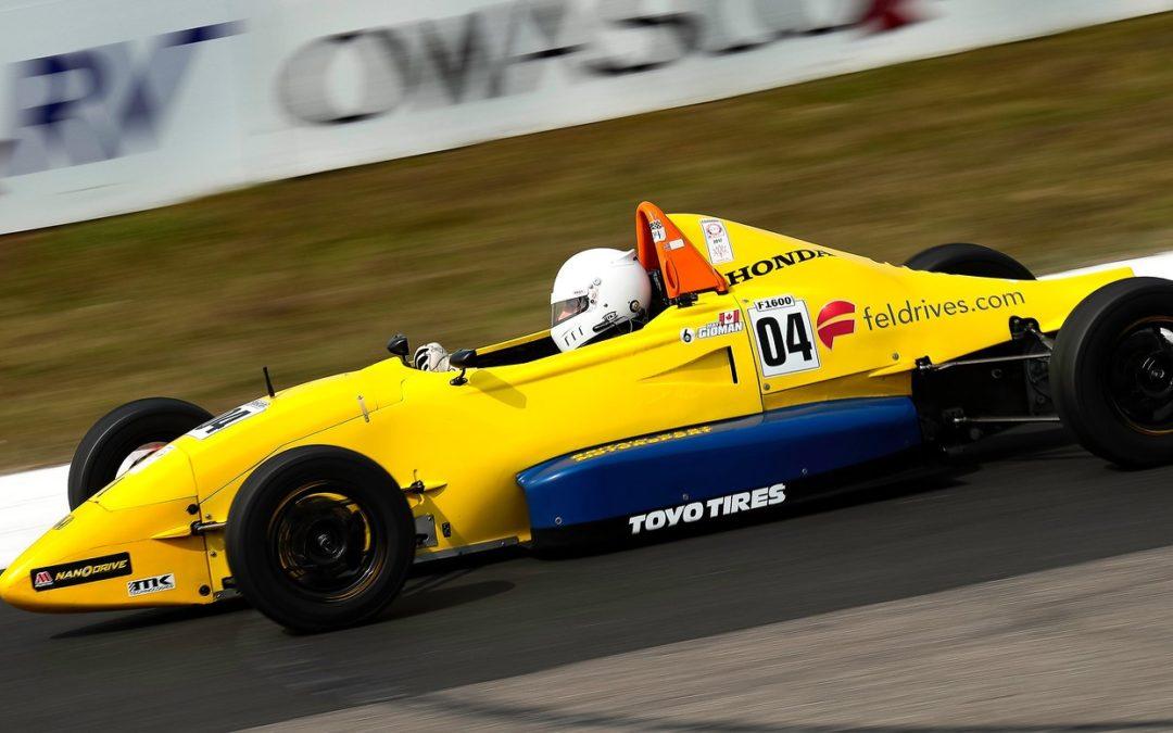 Matt Gidman, Formula 1600 Competitor