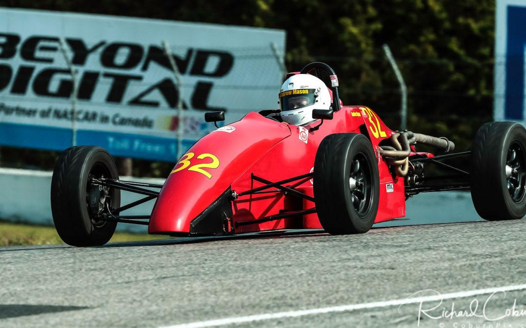 Andrew Mason, Formula 1600 Competitor