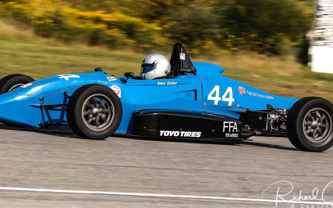 Alex Zeller, Formula 1600 Competitor