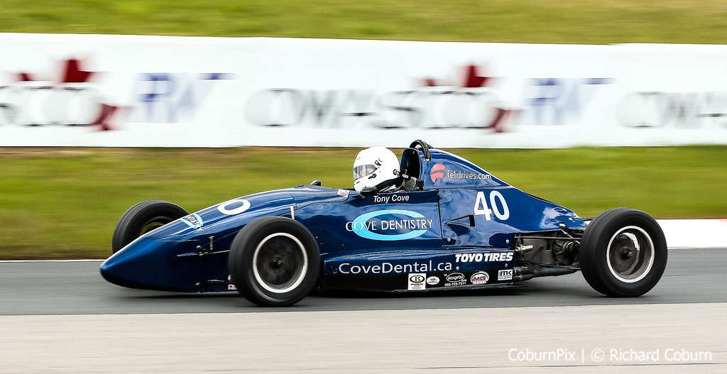 Tony Cove, Formula 1600 Competitor
