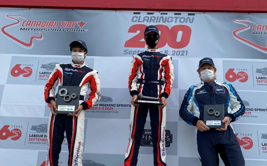 Round 4 – Canadian Tire Motorsport Park, September 3/4/5